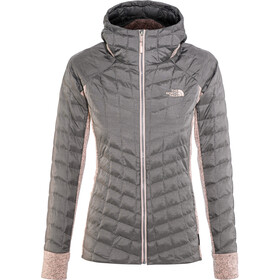 The North Face Thermoball Gordon Lyons Hybride Capuchon Jas Dames, rabbit grey/misty rose heather